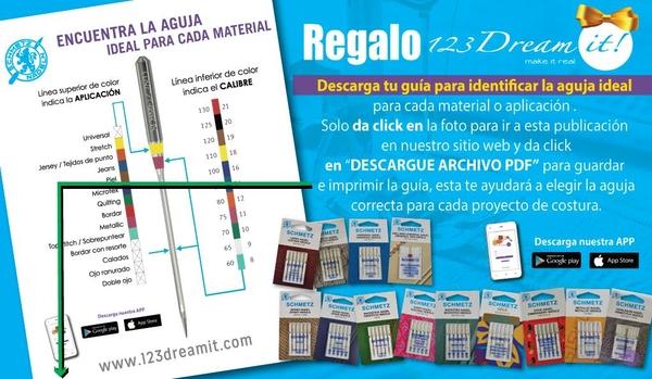 Guía para seleccionar la aguja ideal.