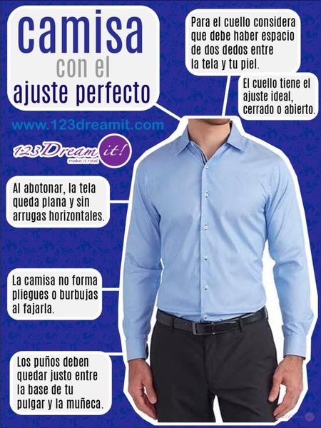 Camisa con el ajuste perfecto.