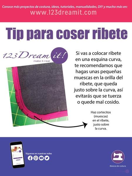 Tip para colocar ribete