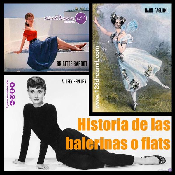 Historia de las balerinas o flats
