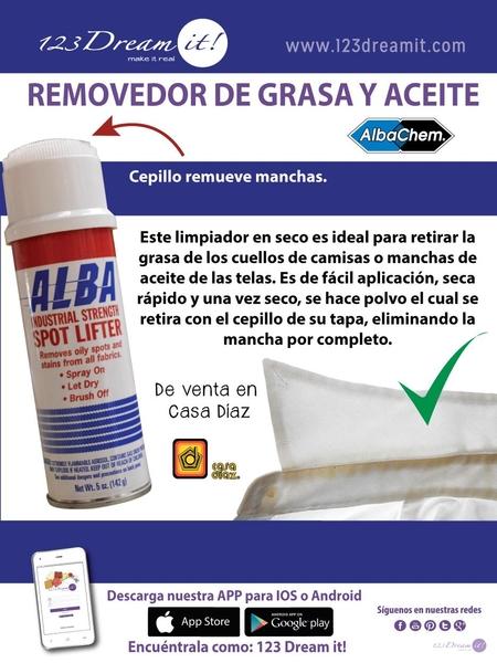 Removedor de grasa y aceite