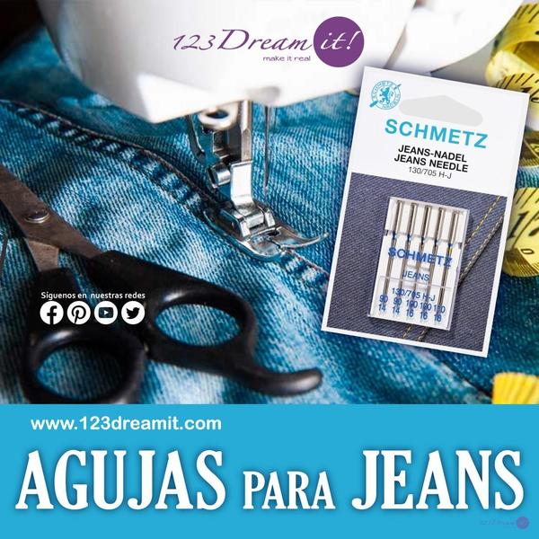 agujas para jeans