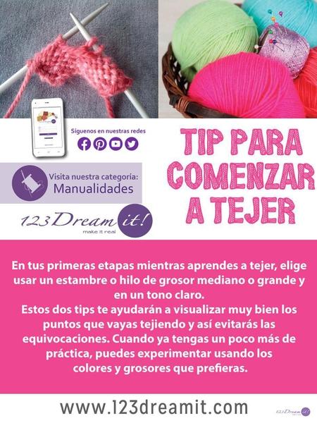 Tip para comenzar a tejer
