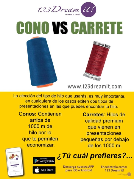 Cono VS Carrete