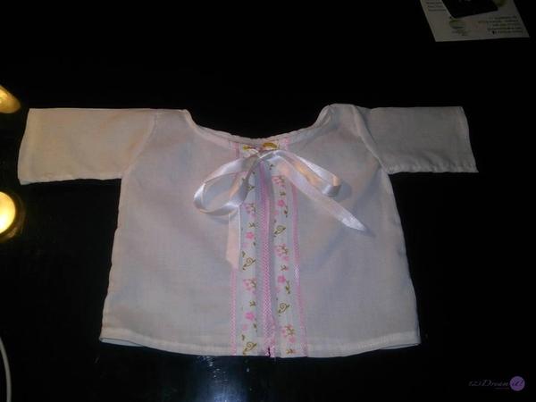 Camisa para recién nacido