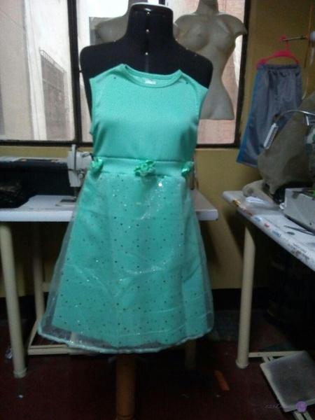 vestido para promoción de inicial