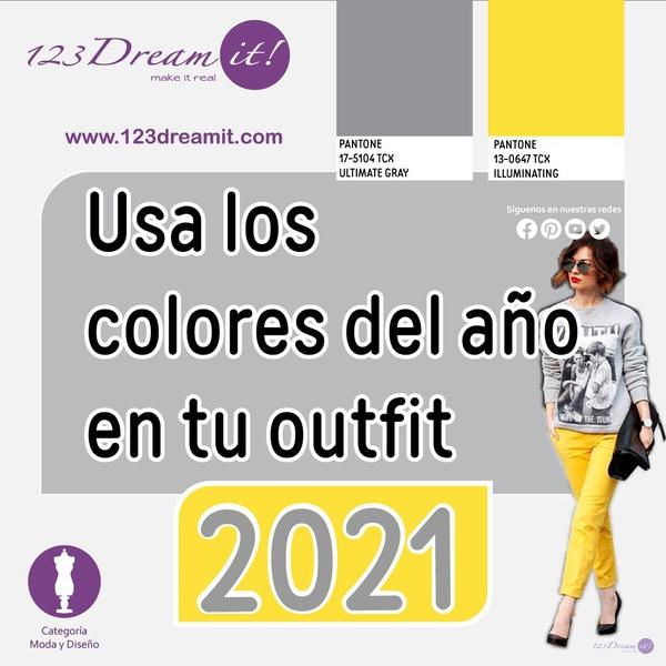 Usa los colores del año en tu outfit
