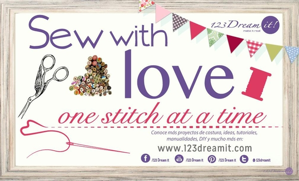 Sew with love!