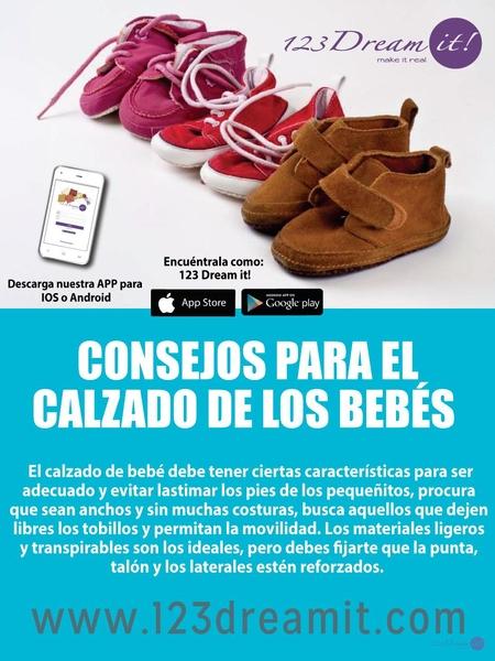 Consejos para el calzado de los bebés