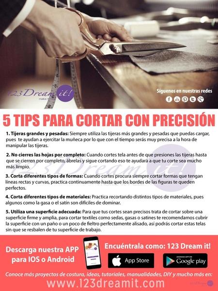 5 Tips para cortar con precisión la tela