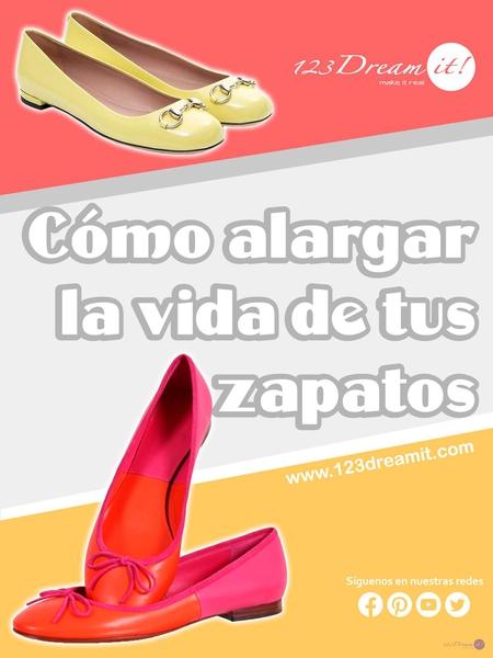 Cómo alargar la vida de tus zapatos.