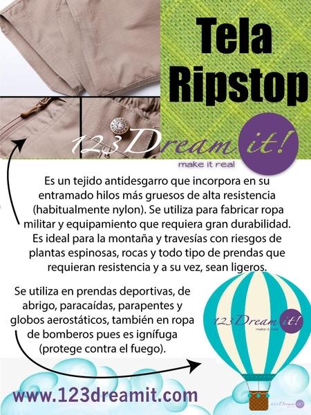 ¿Sabes qué es el ripstop?