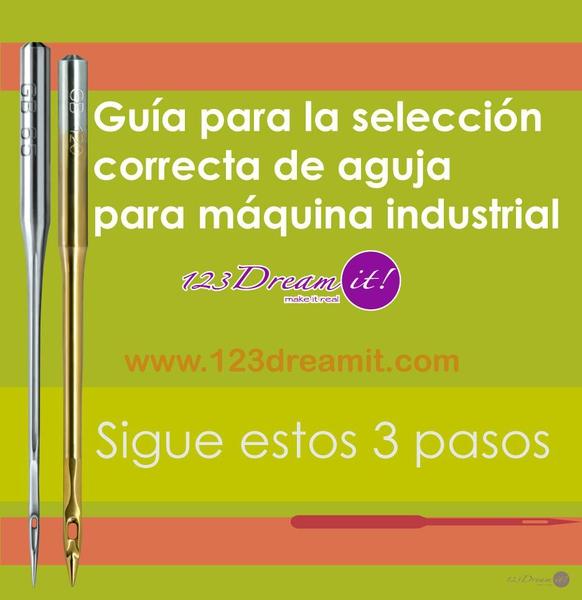 Guía para la selección correcta de aguja para máquina industrial