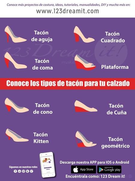 Tipos de tacón para tu calzado