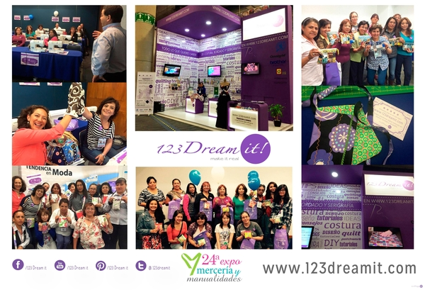123 Dream it! en Expo Mercería y Manualidades