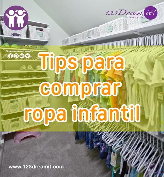 Tips para comprar ropa infantil