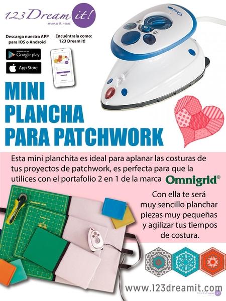 Mini plancha para patchwork